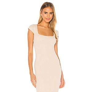 Privacy please ribbed dress